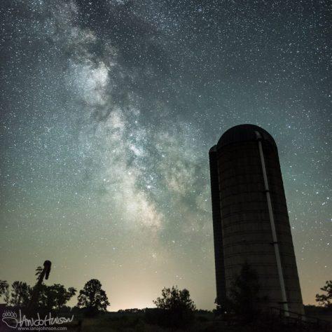 Milky Way, Minnesota, Galaxy, Butler, Midwest