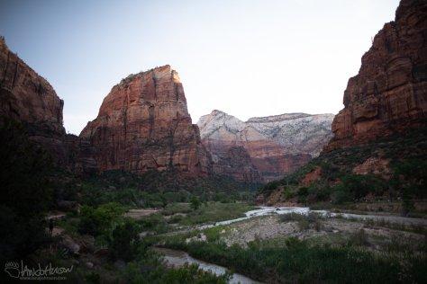 Angels Landing, Zion National Park, Utah, Landscape, Photography