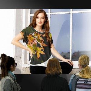 Modern Tee Womens Fashion - Pleasure in Autumn