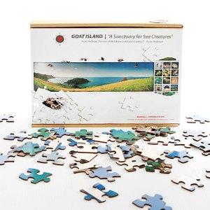Jigsaw Puzzle - Goat island