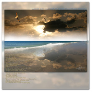 This God light written in the sky, poems by Ian Anderson.