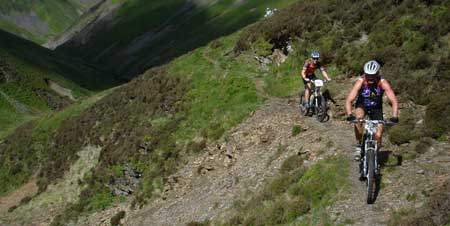 Dave Piper on the Southern Upland Way