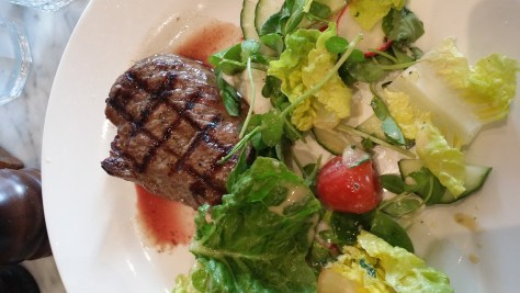Rump Steak & Salad
