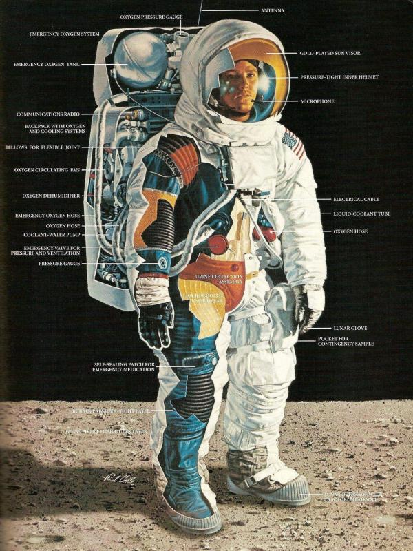 Space suit iancalle