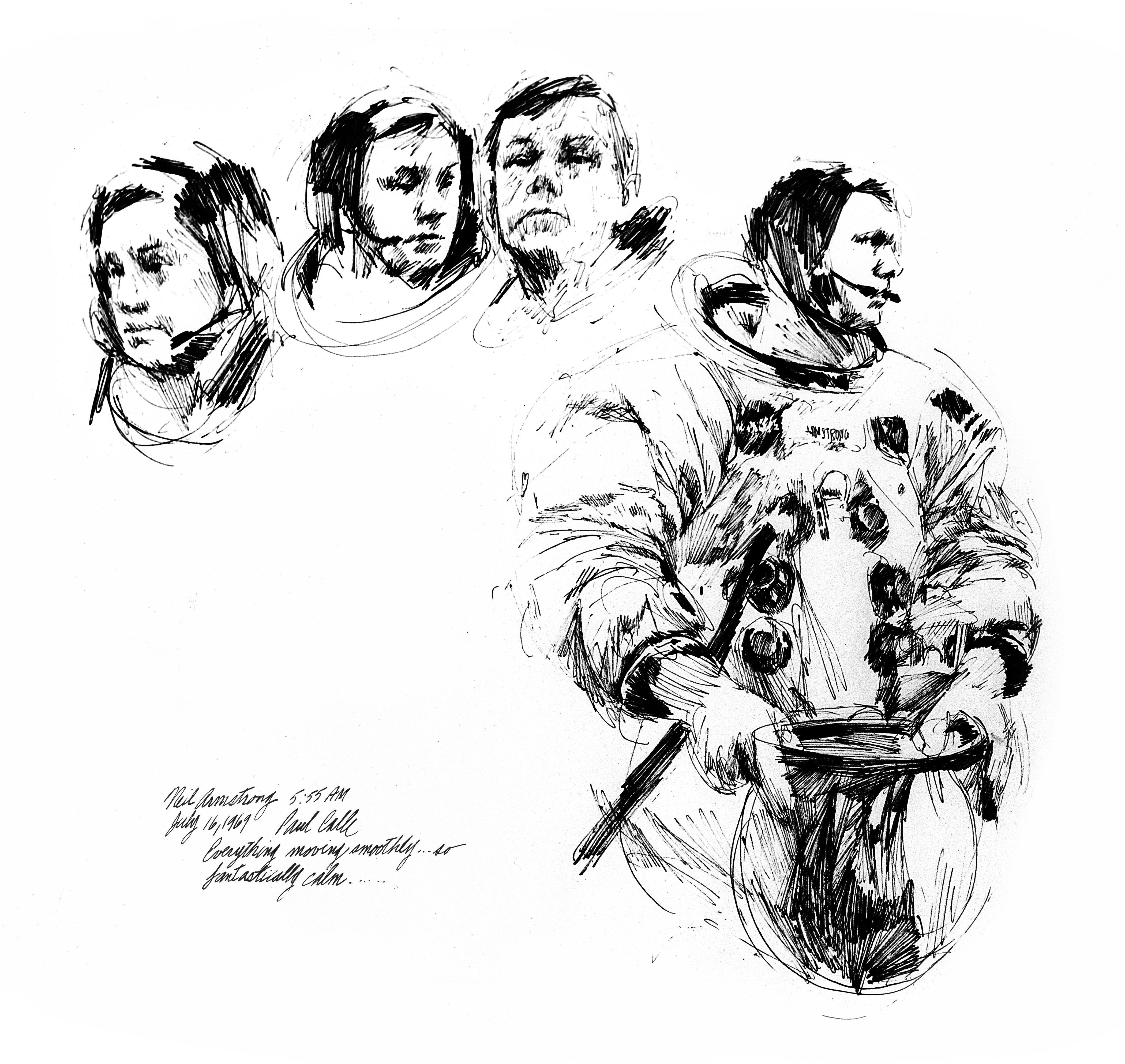 Nasa Rover Drawlings