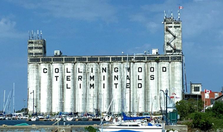 Collingwood grain elevators