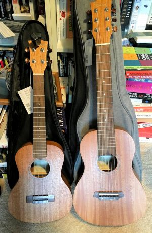 Kmise tenor and guitarlele