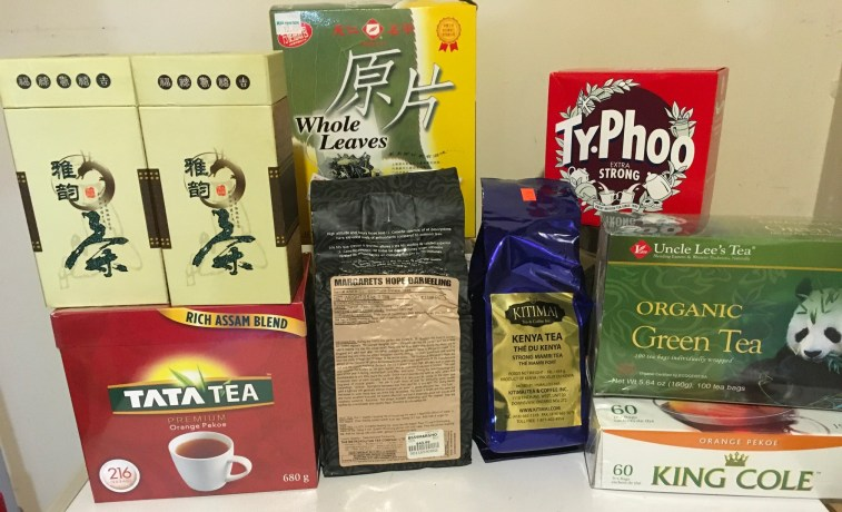 Teas from our second cupboard