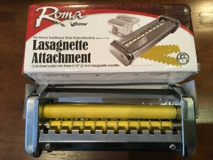 Roma lasagnette cutter, garbage