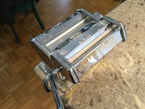 Mafaldine cutter attached