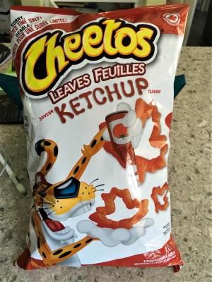 Ketchup-flavoured Cheetos