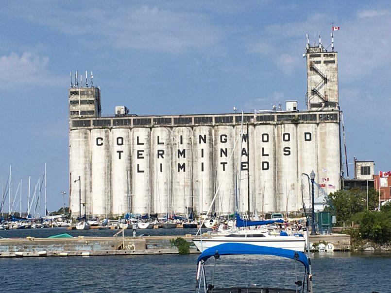 Collingwood's Grain elevators