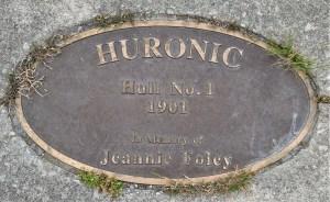 Huronic hull no. 1