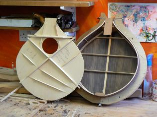 baritone cittern assembly