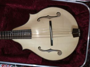 2 point F hole mandolin 2013