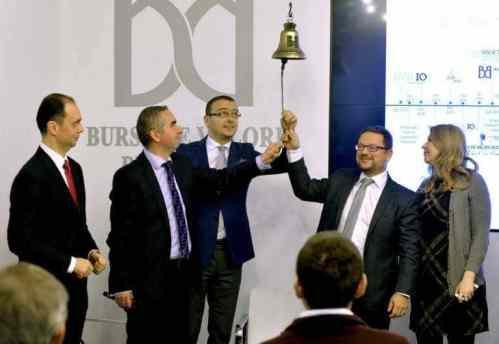 Bursa de Valori din București – deschiderea ședinței de tranzacționare
