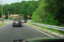 Exiting Route 128