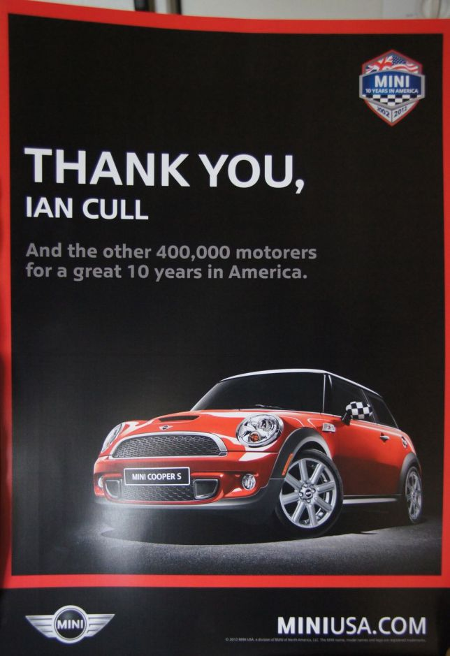 Thank you from MINI USA