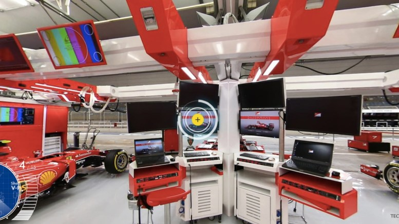 ferrari f1 garage uncovered � iandecotta