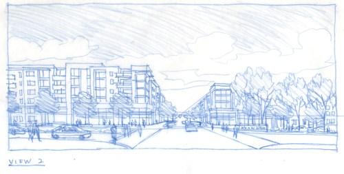 Victoria Retail Concept Sketch