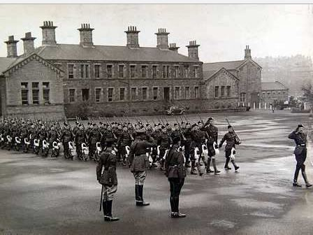 Maryhill Barracks 1888