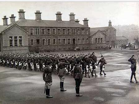 Maryhill Barracks 1888