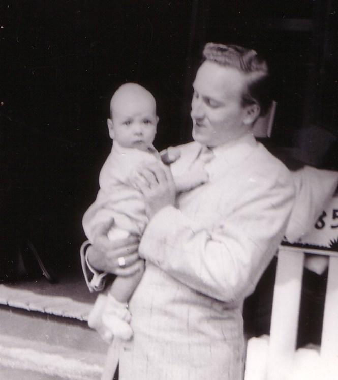 HADDEN Ian and Dad 1955