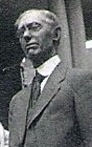 Thomas Elliott Knox (photo taken abt. 1923 during visit to orillia, Ontario, Canada)