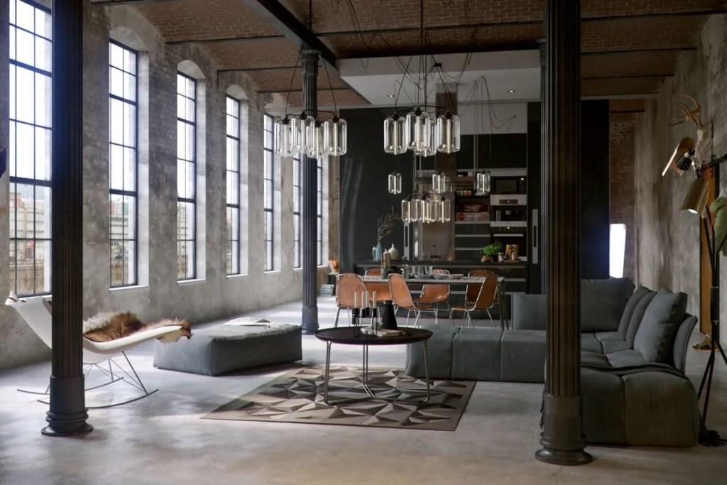 Modern Industrial Interior Design Regulated Disorder Trend
