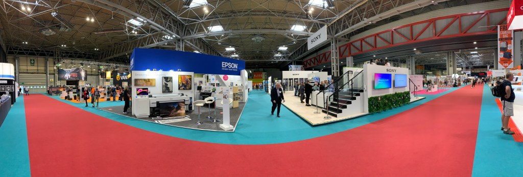 Photography and Video Show floor