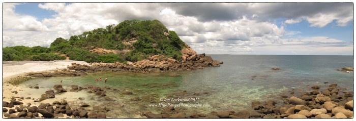 Pigeon Island north beach