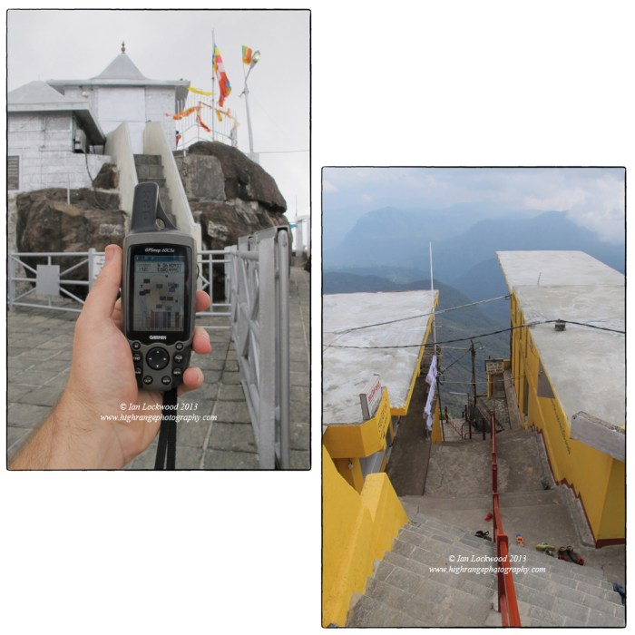 Scenes from the Sri Pada temple area.