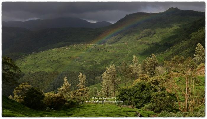 Small rainbow over the Thaliya/Vagavurai valley.