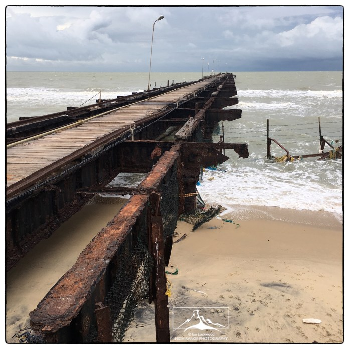 Talaimannar Pier, where the ferry once left for Rameshwaram.