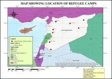 DP 1 Geography EE map of Syria/Lebanon by Anjulie (OSC Class of 2017)