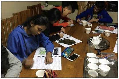 Day II: Reflection time at Mahaeliya in HPNP