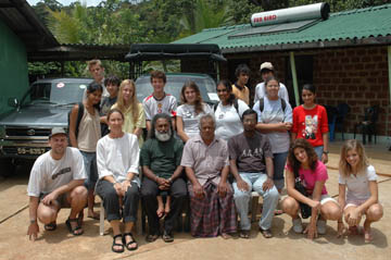 OSC Class of 2007 Group at Sinharaja (May2006)