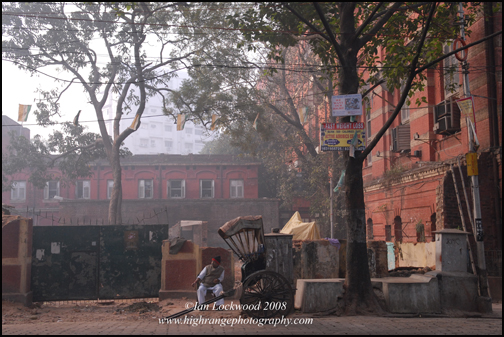 Where the old Salvation Army guest house used to be on Kolkata'sSudder street