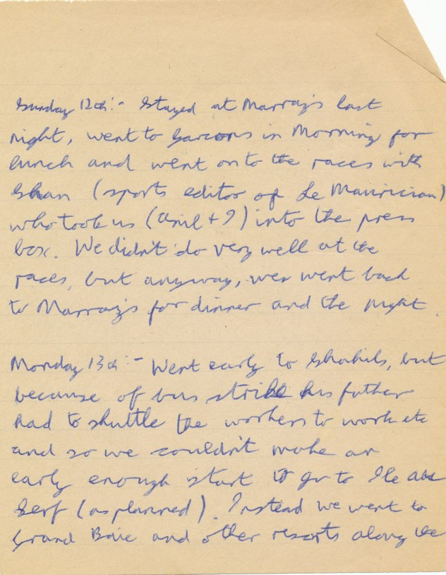 Mauritius Journal Page 12 & 13 August 1979