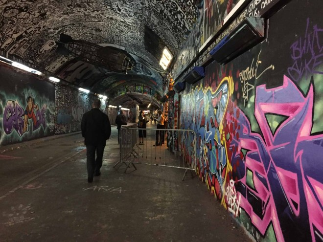 Leake Street aka Graffiti Tunnel