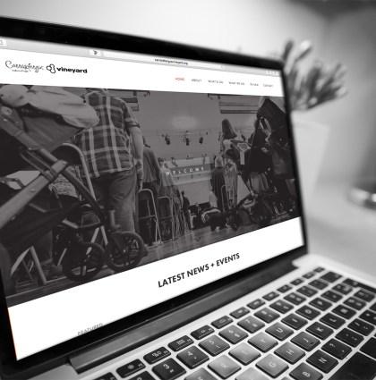 Carrickfergus Vineyard   Web Design