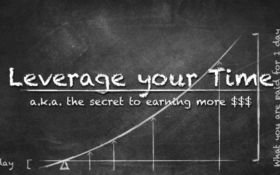 The secret to earning more $$$: Leverage your Time