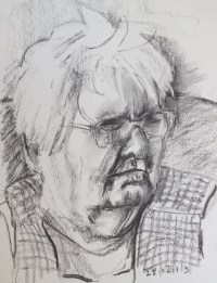 Mam Charcoal Sketch
