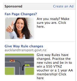 NZ Governement Rule Change AD Facebook