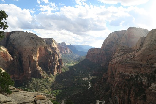 From Angels Landing Zion National Park