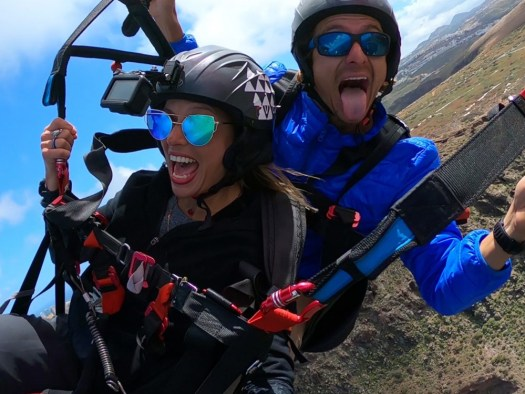 paragliding canary islands - fly in canarias
