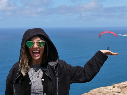 paragliding canary islands - v supports