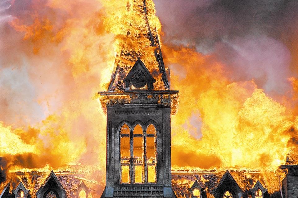 Alma fire, May 28, 2008