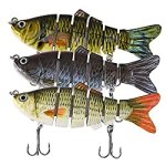 Pike lures Jointed