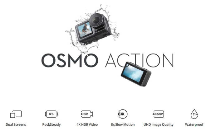 Osmo action from DJI